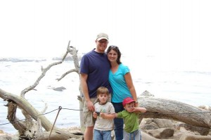 The family at Point Lobos